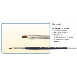 Pincel Flat Brush DFS