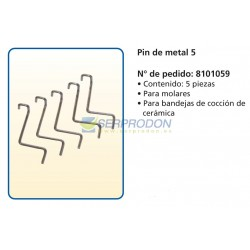 Pin de metal 5 DFS