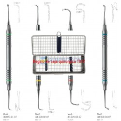 Kit Curetas Sinus Lift Minimas Invasivas KLS Martin